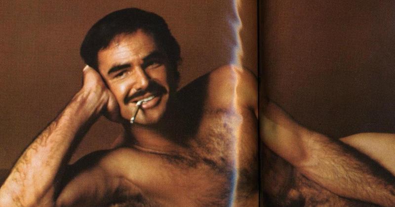 Burt Reynolds' Nude Cosmopolitan Spread