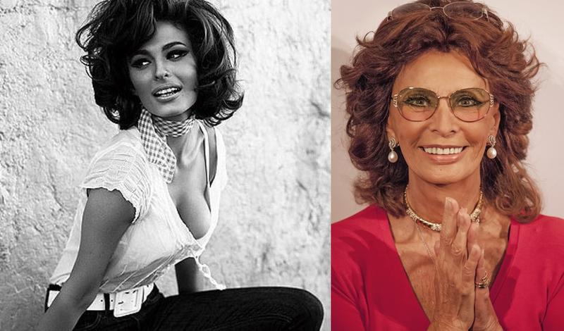 Sophia Loren Italian Beauty Personified Then And Now