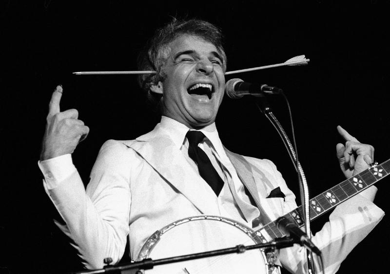 """Steve Martin's """"Well, Excu-u-use Me!"""" - A Catchphrase That Started His  Career"""