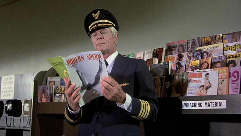 Airplane Gags List Of Top 50 Visual Gags From The 1980 Disaster