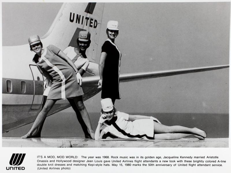 Bikini Naked United Airlines Flight HD